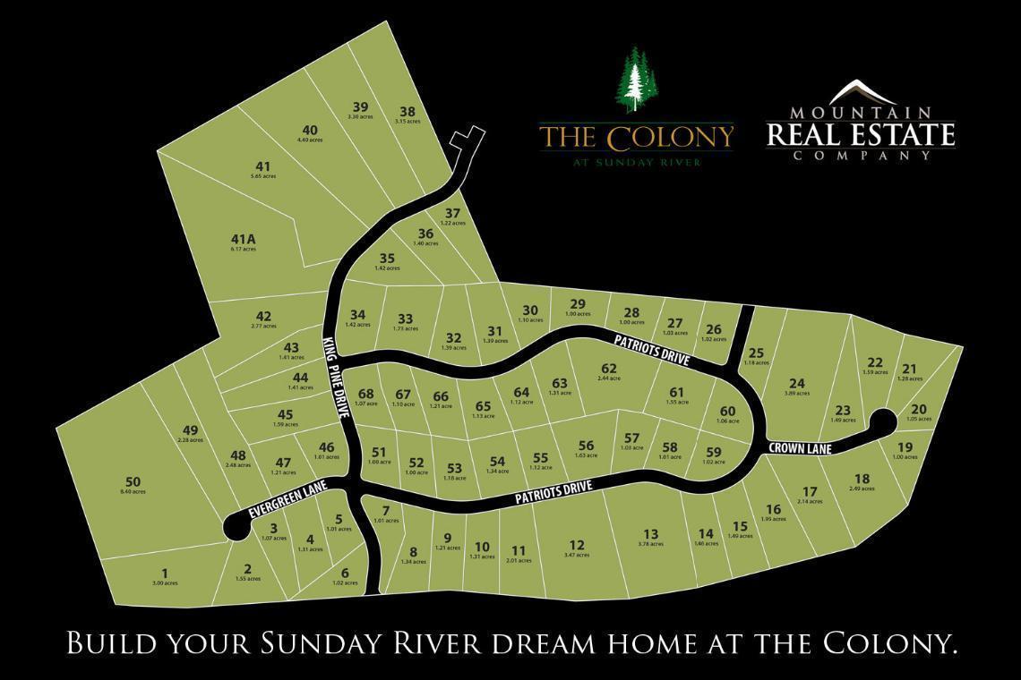 Colony Map MREC